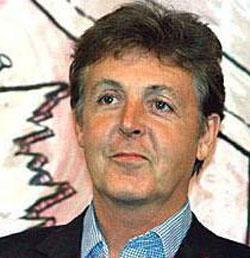 Paul McCartney sang ?