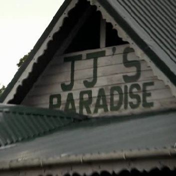 In which episode is this aptly named establishment, JJ's Paradise, entered by the team while tracking a lead?