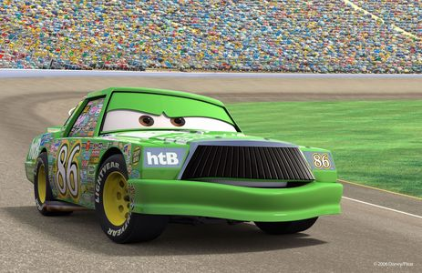 "Why is Chick Hick's Racing number ""86""?"
