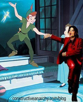 "Complete this Michael's quote : ""I'll always be Peter Pan in my ______."""