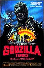 How did the people kill Godzilla in Godzilla 1985?