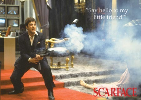 Who directed the 1983 classic Scarface?