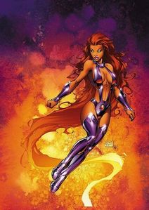 Starfire Grew up on Which Planet?