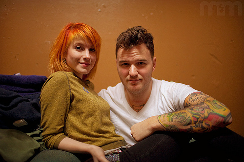 Hayley Williams is in a relationship with Chad Gilbert. And he's the guitarrist from one of Hayleys favorito! bands. Which band is it?