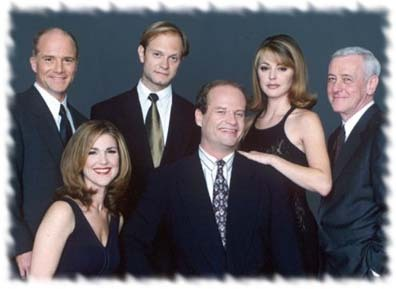 How many episode are in the TV toon Frasier?