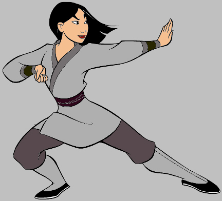 How long did Mulan's training last?