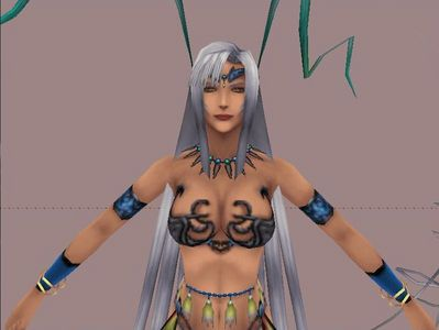 Does yunalesca show up in FFX-2?