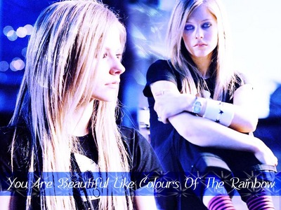 T of F: Avril is pretty obsessed with England and castles and royal families.