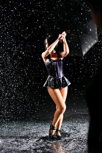 "When was filming music video for the song ""Umbrella""?"