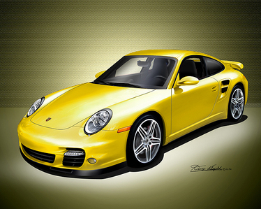 When is the first time that we hear about a Porsche?