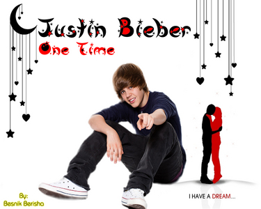 who was in One Time with Justin Bieber