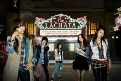 "Who sang the first part of the song ""Lachata""?"