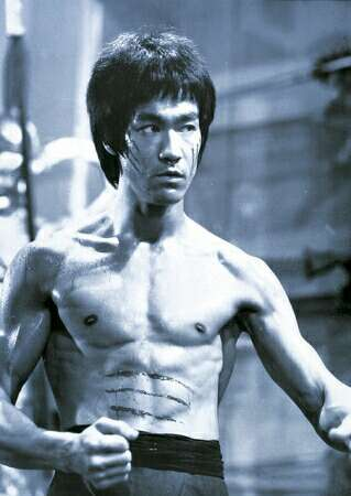 What is the name of Bruce Lee's father?