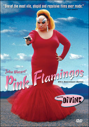 Which of the following actors/actresses does not appear nude in the 25th Anniversary edition of Pink Flamingos?