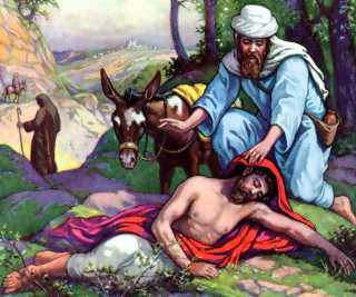 """Which book records the parable of """"The Good Samaritan"""" ?"""