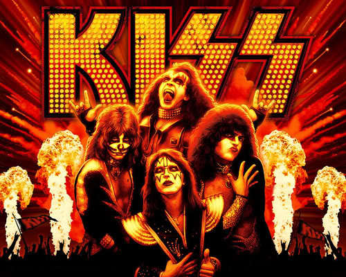 Who got キッス a deal with Casablanca Records within two weeks of discovering them playing at Hotel Diplomat?