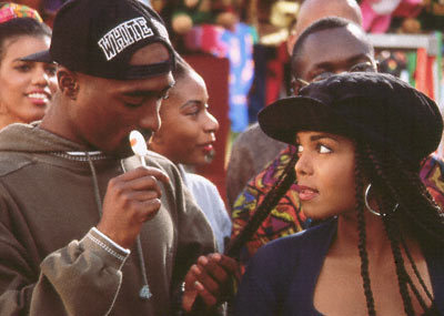 In which movie Janet was co- starring with 2Pac ?