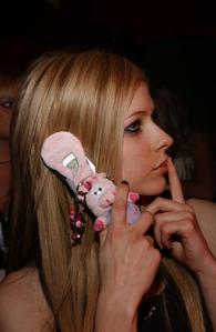 T or F: Avril used to get grounded a lot.