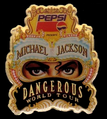 """DANGEROUS WORLD TOUR"" how many shows ?"