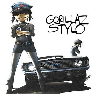 """Which actor appears in Gorillaz's video clip """"STYLO"""" ?"""