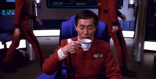The china used in The Undiscovered Country was made por the same company that makes china for the white house.