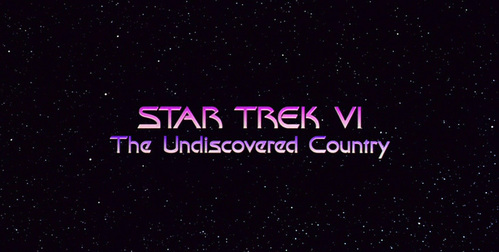 The Undiscovered Country was supposed to be the original title for which Star Trek Movie?