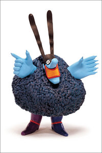 The Chief Blue Meanie's cousin is