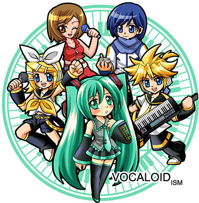 Who was the first japanese vocaloid?