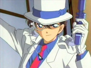 Why does Kaitou Kid wear white?