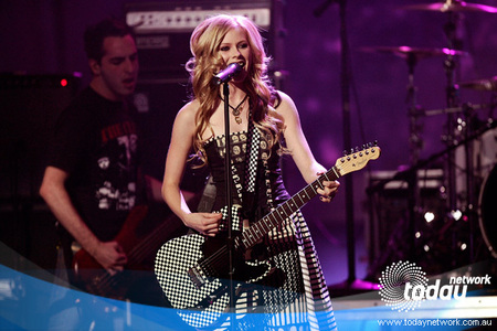 T or F Avril said this: 