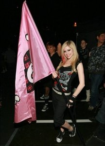 What was Avril's fourth tour called?
