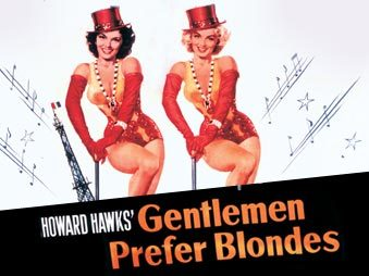 "When was ""Gentlemen Prefer Blondes"" filmed?"