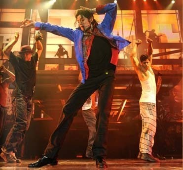 Who was Michael's choreographer ?