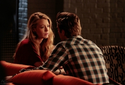 Who is going to try and  break up nate and serena in 3x19??