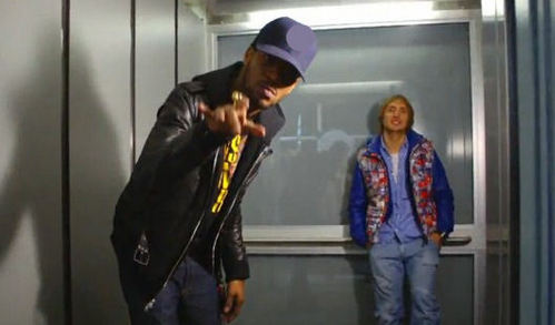 """Memories"" video. What is the letter on Kid Cudi's cap ?"