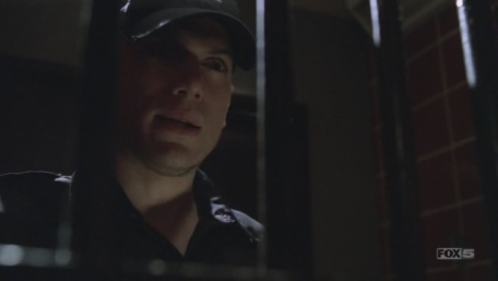 In which epizode Michael went to the Psych Ward wearing guards uniform?