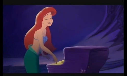 When did ideas for the production of the Little Mermaid begin?