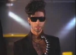 This picture is from which Prince video?