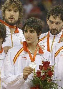 Ricky Rubio became the youngest basketball player to play in an Olympic basketball Final at what age?