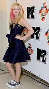 T or F: Avril is good friends with Pink.