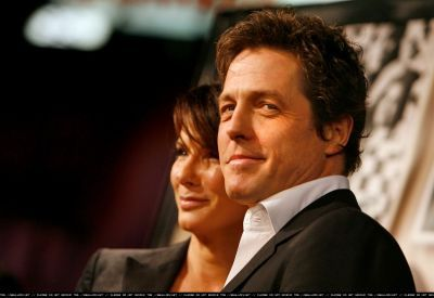 Who is the actor with Sandra in this picture?