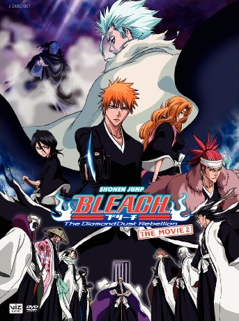 When did Bleach: The DiamondDust Rebellion come out in Japan?