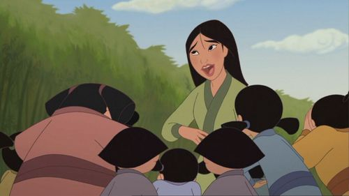 how many kids does Mulan want?
