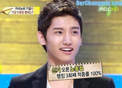 In Come To Play, Changmin've told a weird habit of one of DBSK member. Who is he?