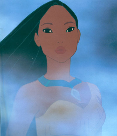 What does Pocahontas tell John Smith to say to Grandmother Willow?