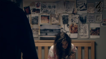 4X05:Out of all the pictures Effy put on the wall, was there one of Tony?