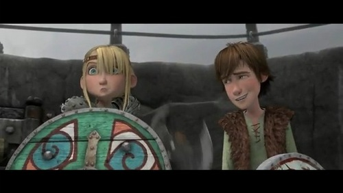What should Hiccup and Astrid sing okay