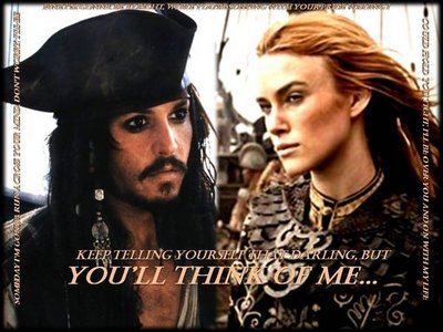 In POTC 2--why wouldnt Elizabeth accept Jack's marriage proposal?(on his ship)