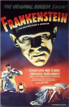 True या false they were very careful not to revile the monster in Frankenstein (1931) till opening night
