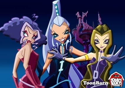 In Season 1, the Trix had a power up. What was their power up?